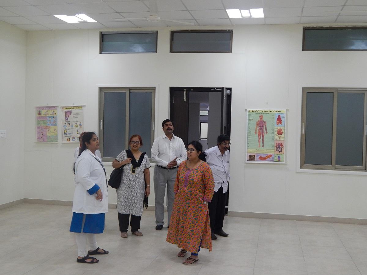 Dr. Praful Barvalia visited to JIMS