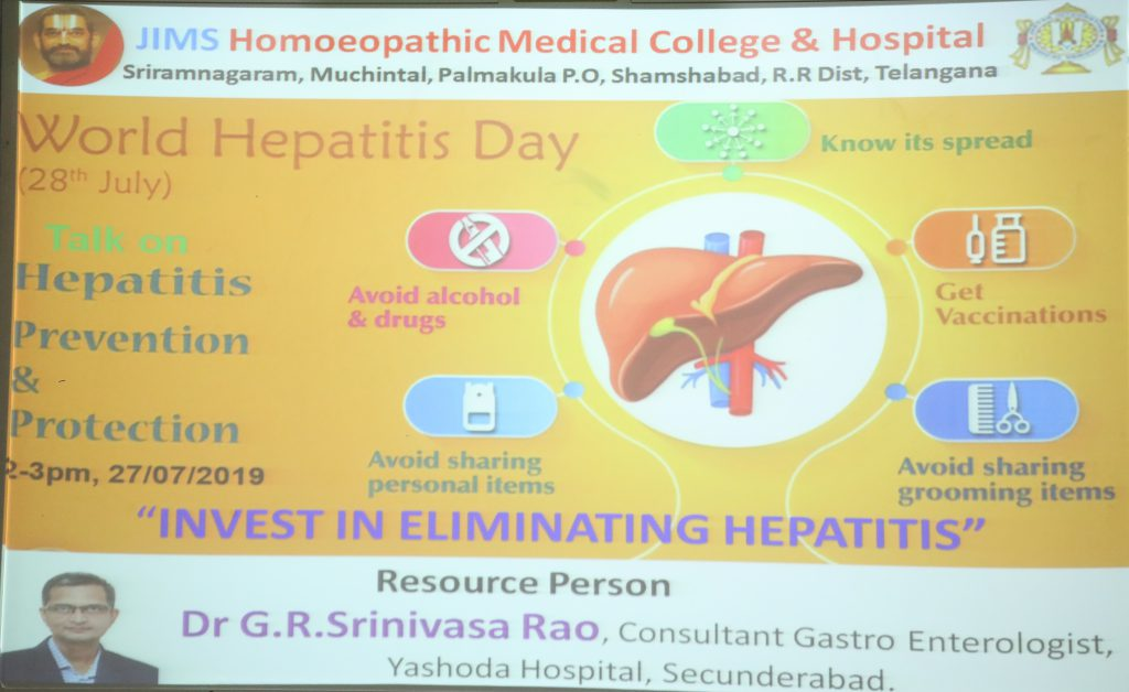 hepatitis day 2019