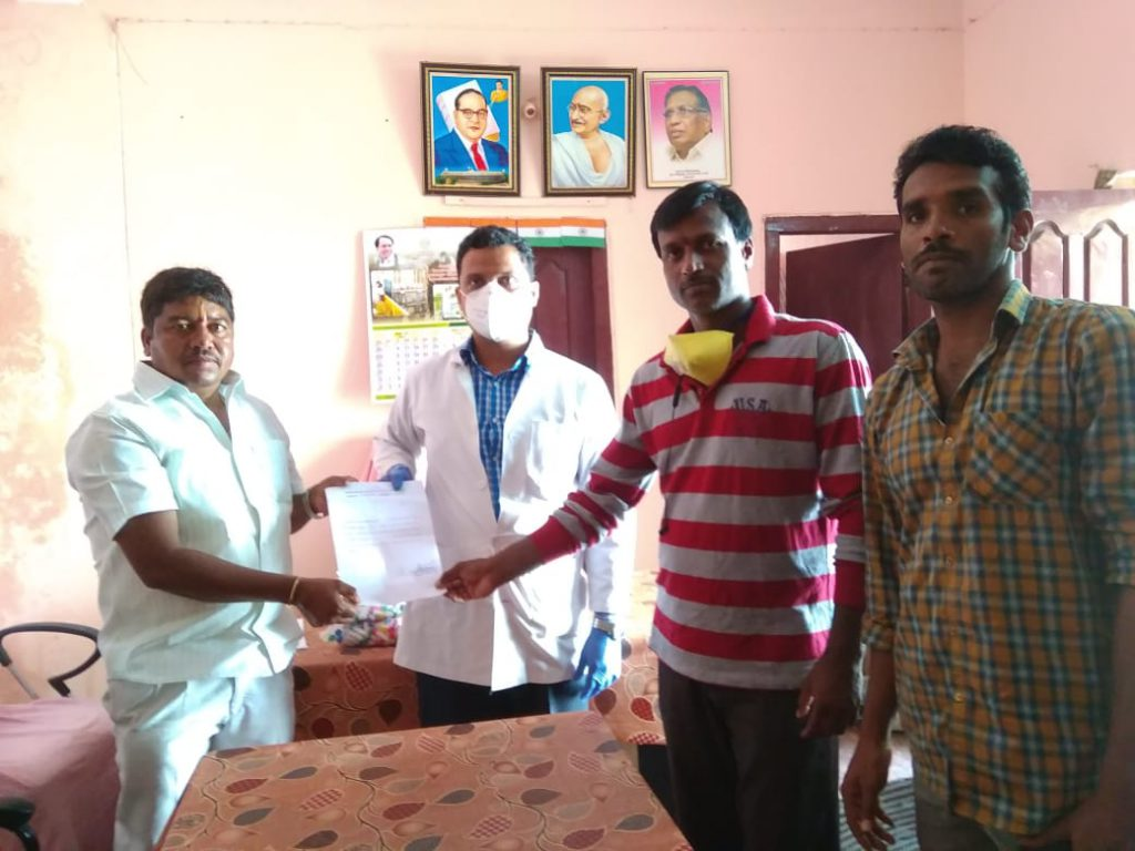 Distribution of Immunity boosters – Chinna Golconda (2nd Phase)