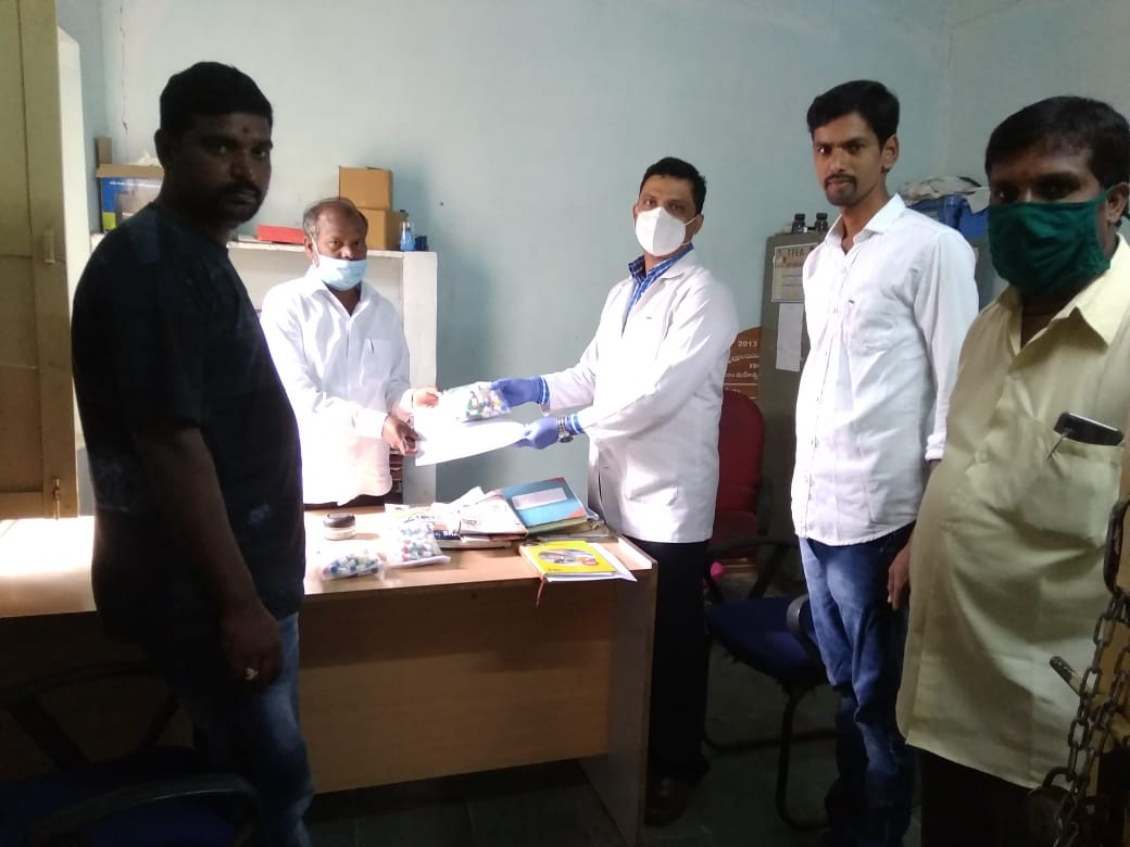 Distribution of Immunity boosters – Gollur (2nd Phase)