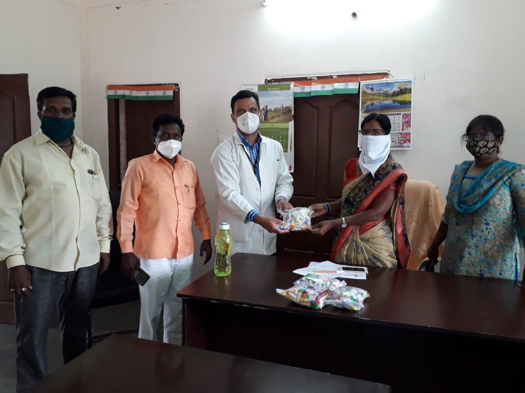 Distribution of Immunity boosters – Muchintal village (2nd Phase)