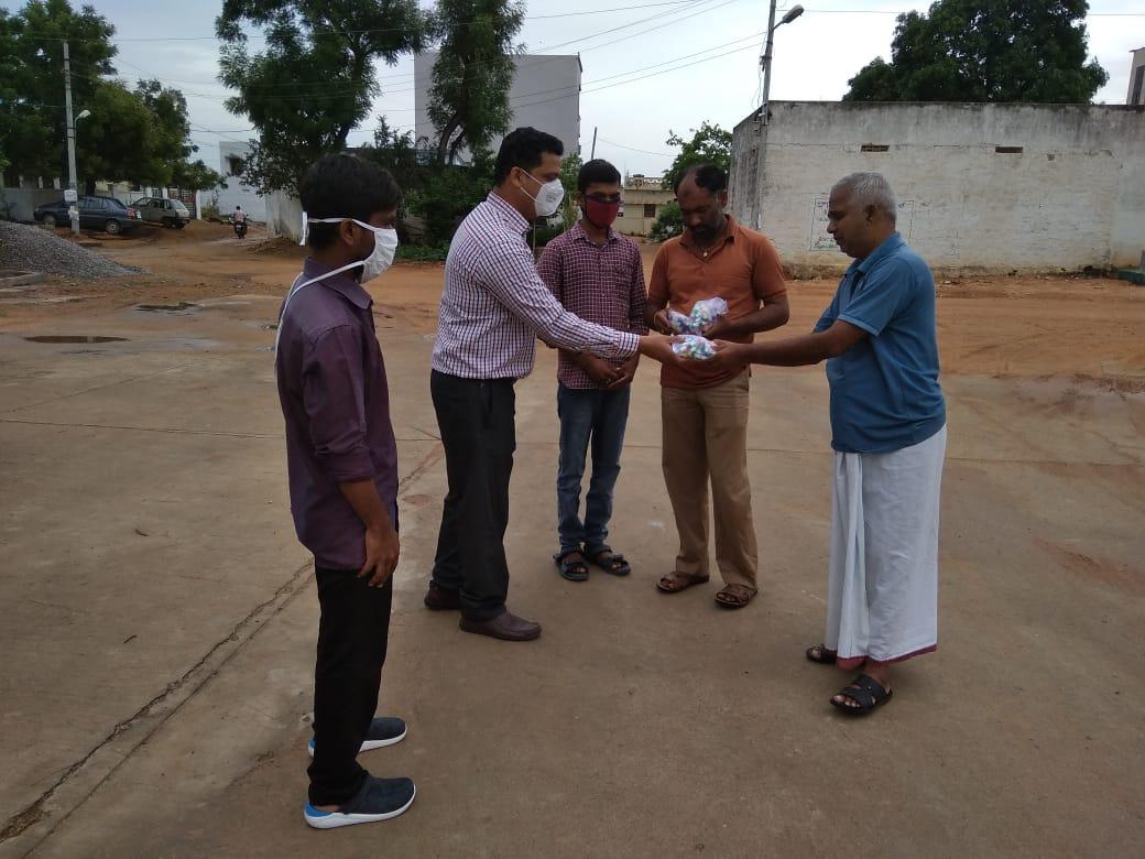 Distribution of Immunity boosters – Shankarapuram village ( Second Phase)
