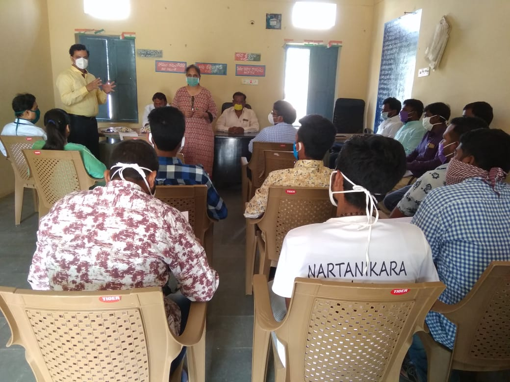 Distribution of Immunity boosters –  Ameerpet Village