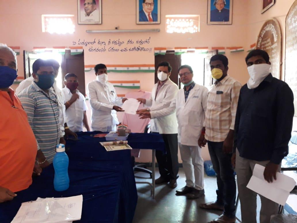 Distribution of Immunity boosters  – Hamidullnagar