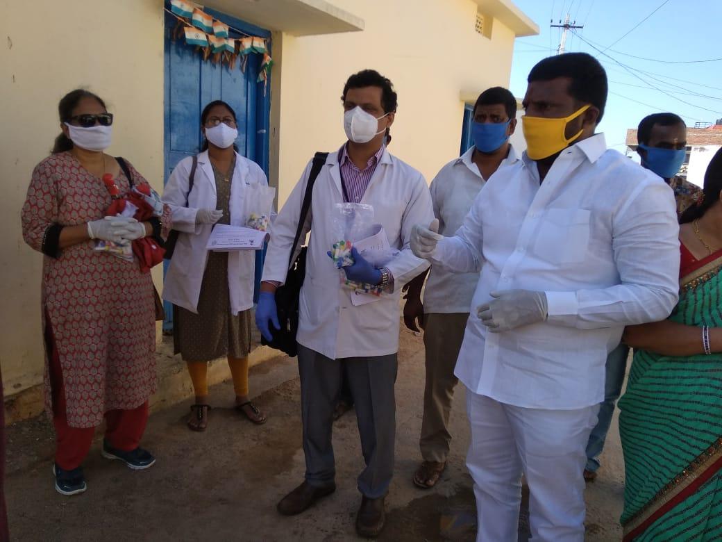 Distribution of Immunity boosters  – Rallaguda