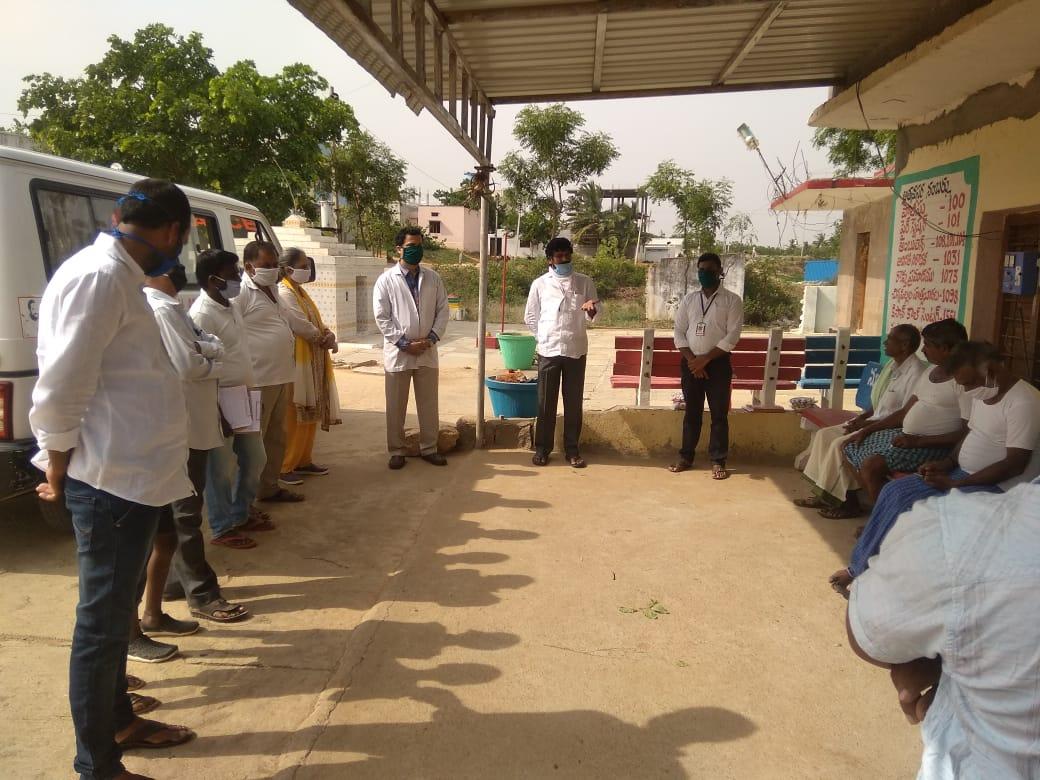 Distribution of Immunity boosters  – Shankarapur village