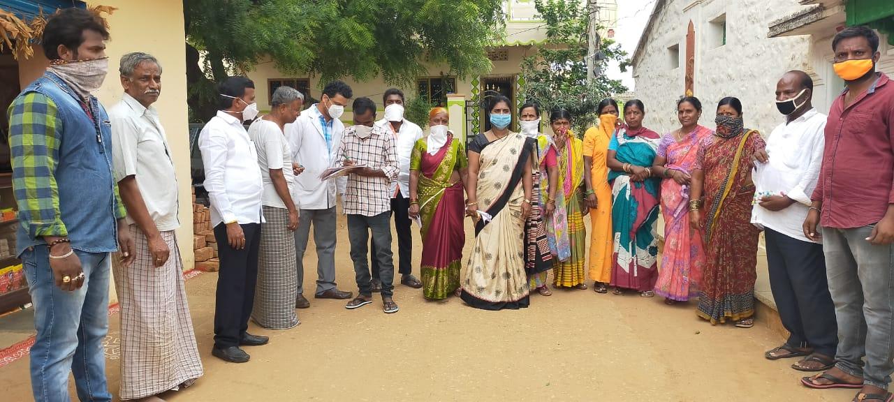 Distribution of immunity boosters – Venkammaguda