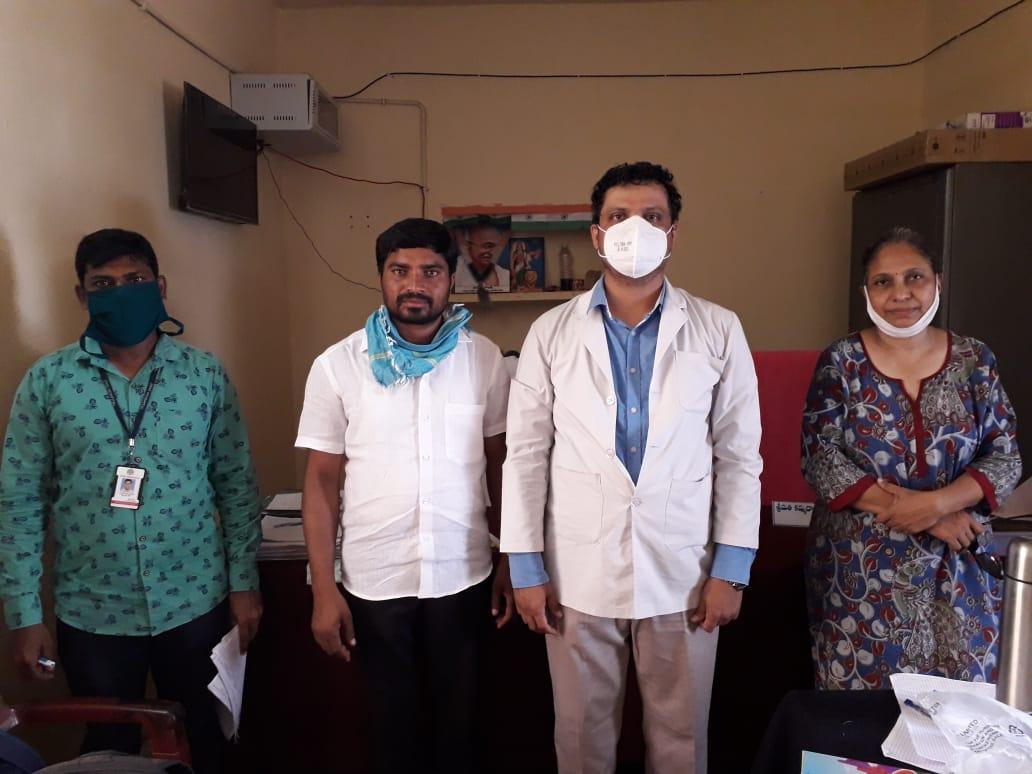 Distribution of Immunity boosters  –  Bahadurguda