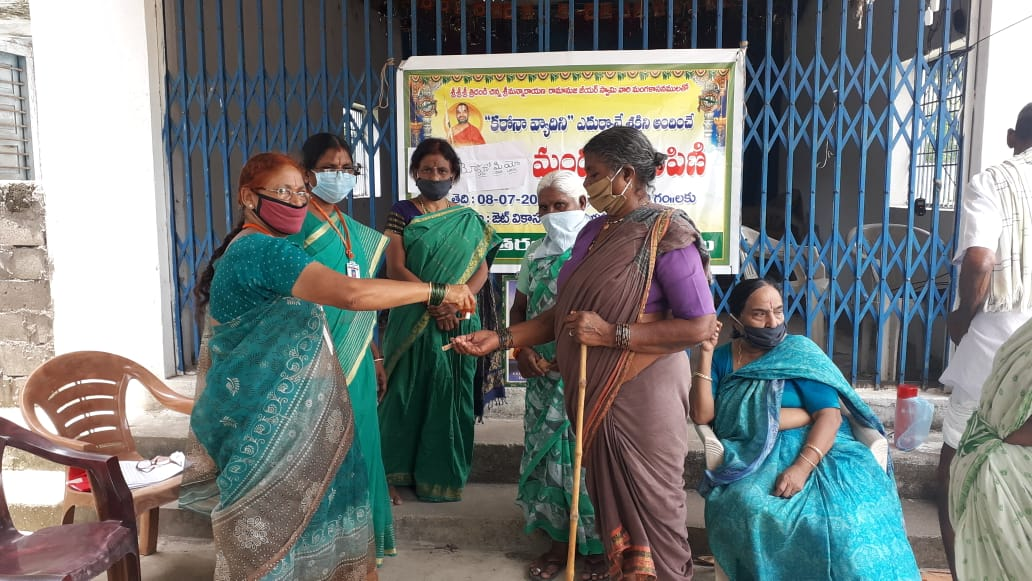 Distribution Of Immunity Boosters in Mancherial