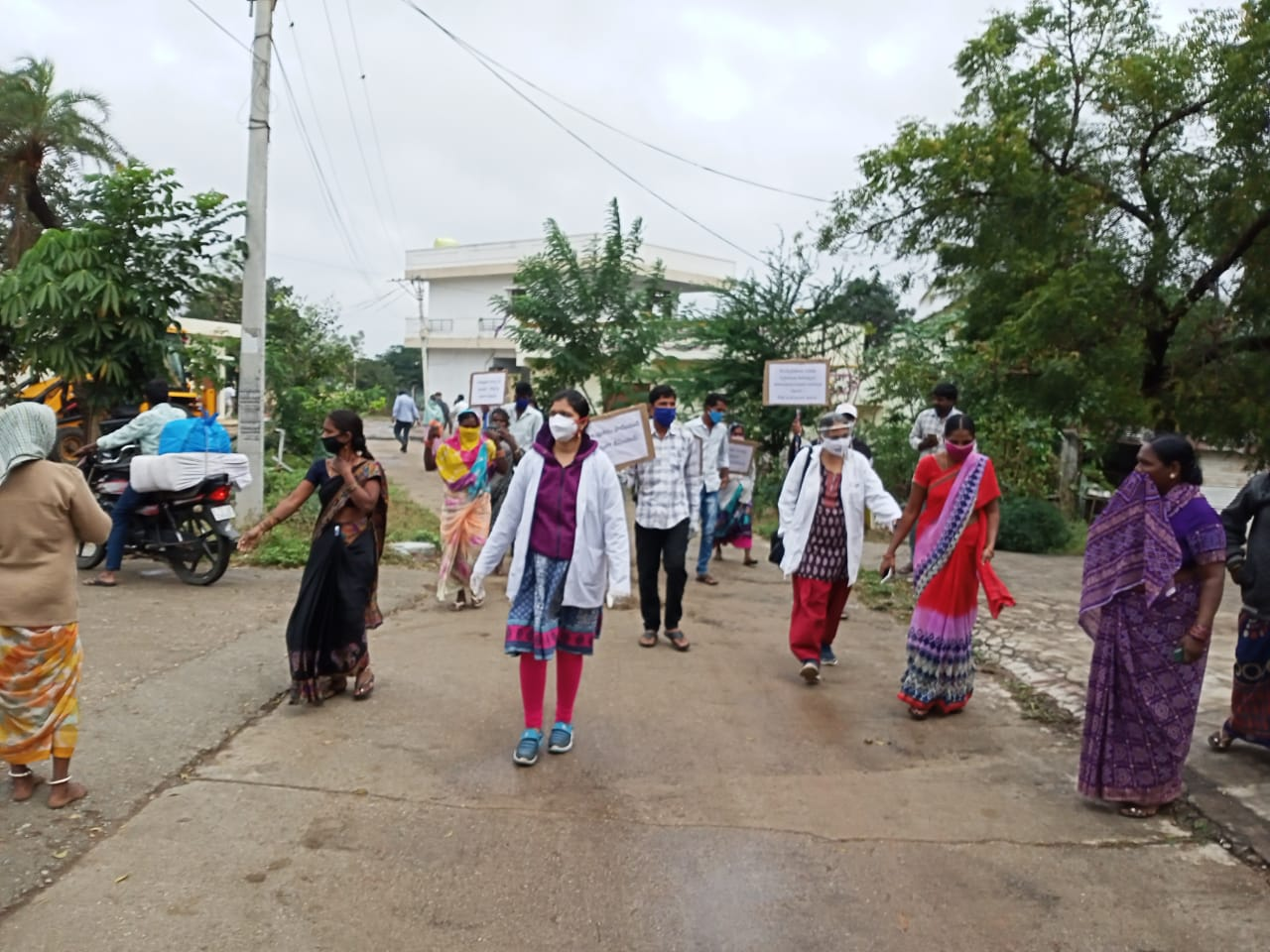 Awareness Rally and Booster dose distribution programme at Midallaguda Panchayat, Mansanpadu and Masjid mamidipalli hamlet villages
