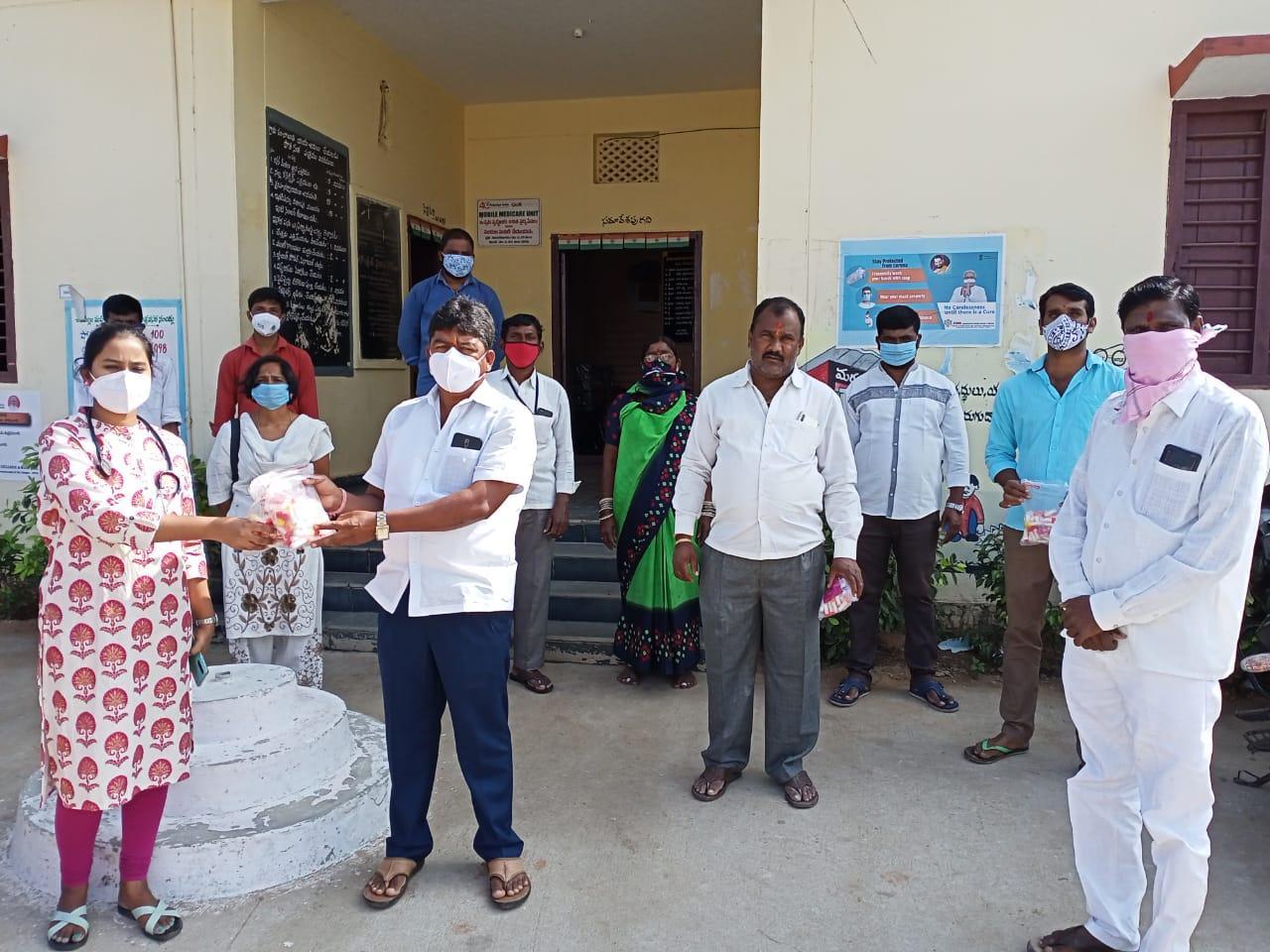 Janandolan campaign – Awareness Rally and Booster dose distribution programme at Chinna golkonda & Sanghi Guda