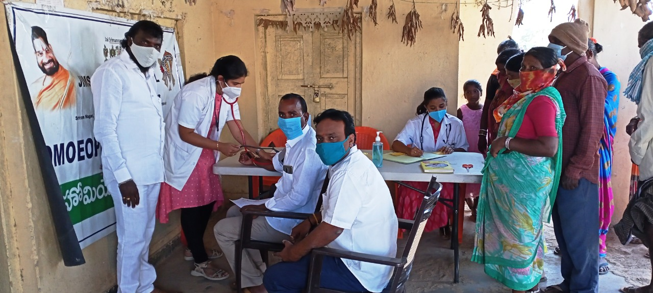 The Medical Camp was organised at Keshampet