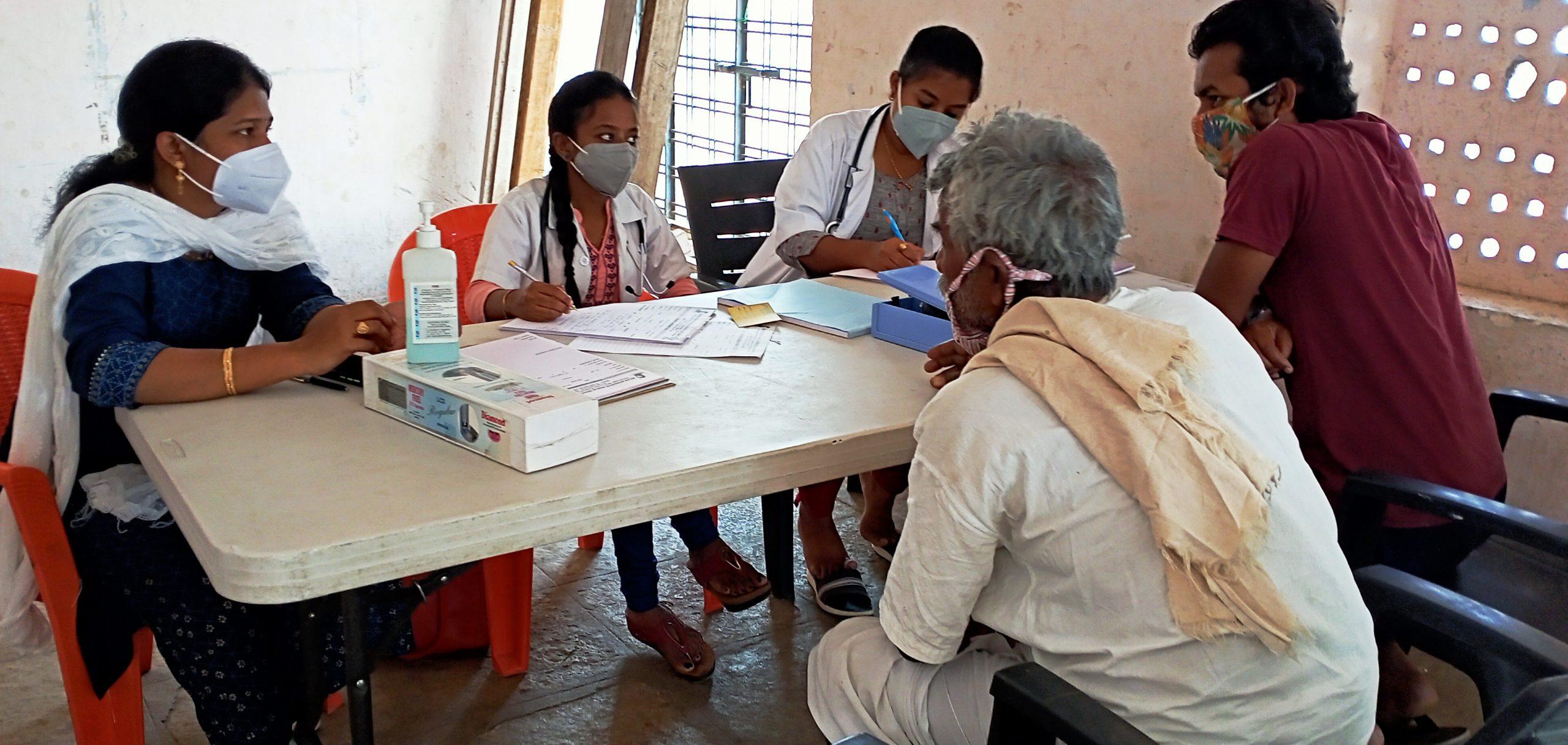 Medical Camp at Appareddy Guda